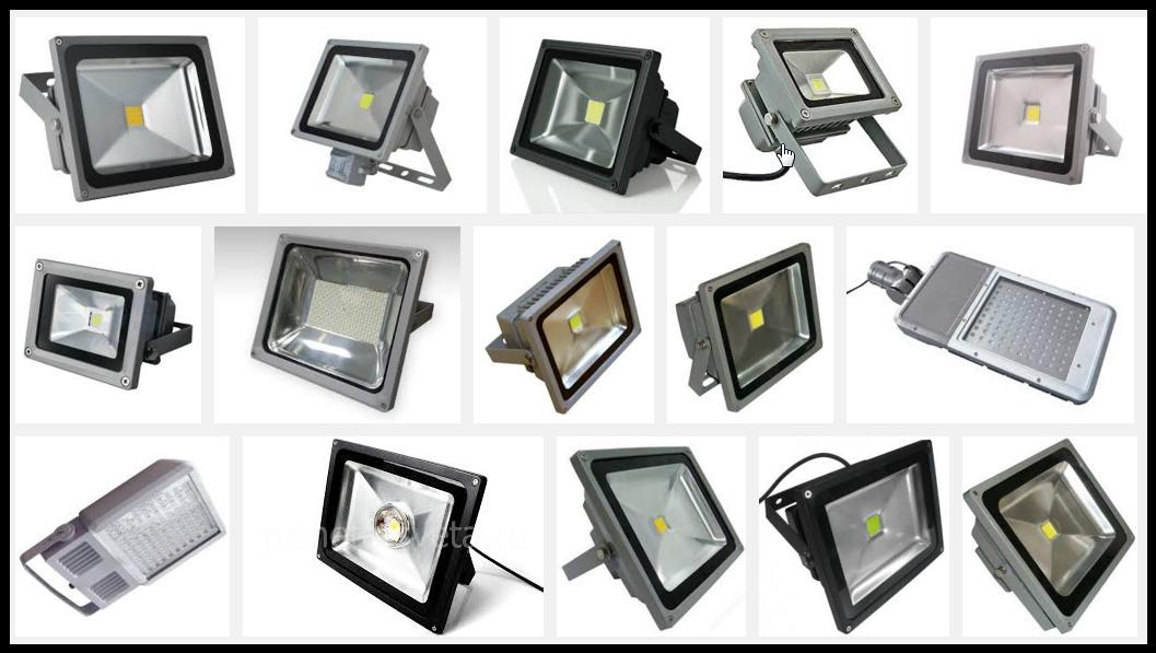 светодиодные прожекторы характеристикии