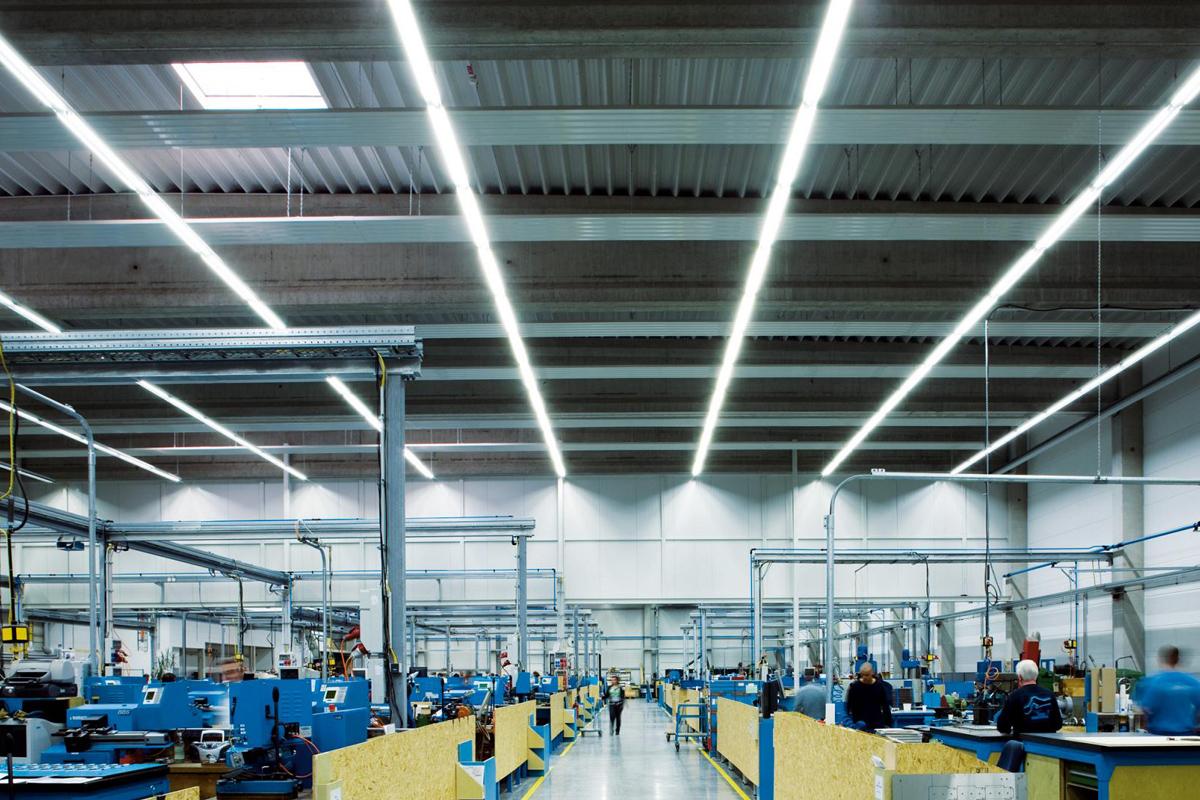 освещенность производственных помещений
