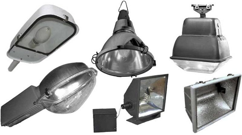 Типы светильников для наружного освещения