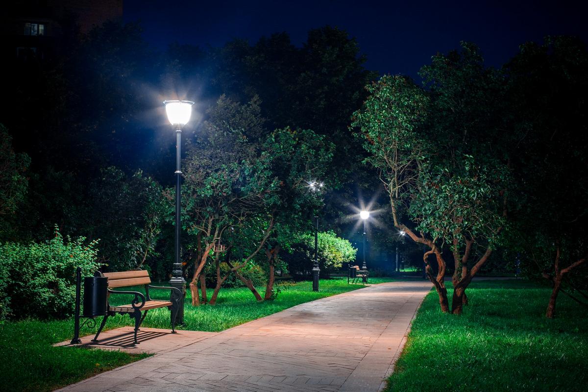 расход электроэнергии на уличное освещение