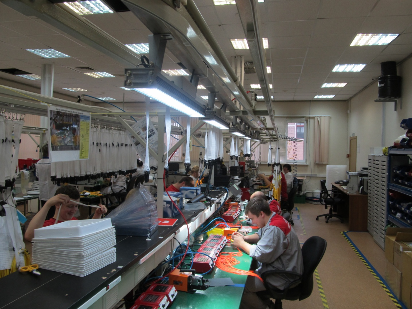 нормы освещения производственных помещений