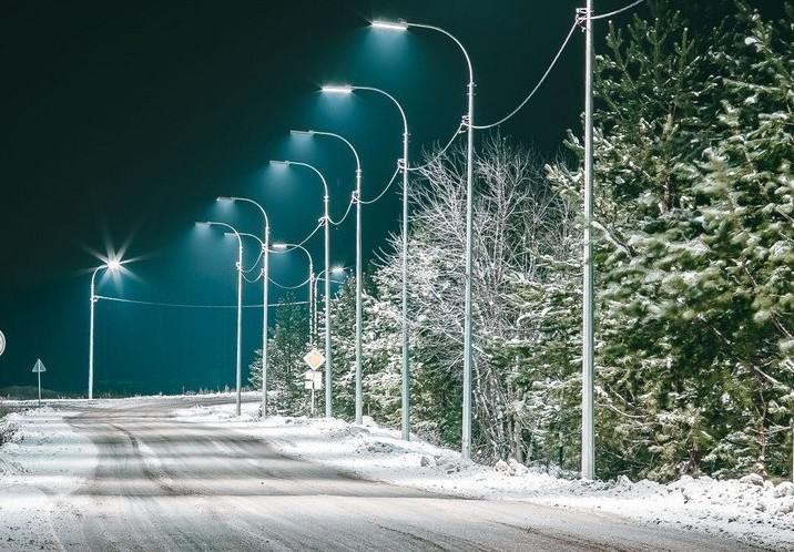 схема уличного освещения