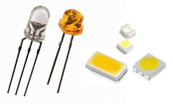 Виды SMD-светодиодов: характеристики, маркировка, особенности