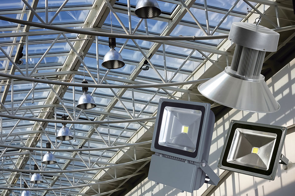 обозначение светодиодных светильников на схеме