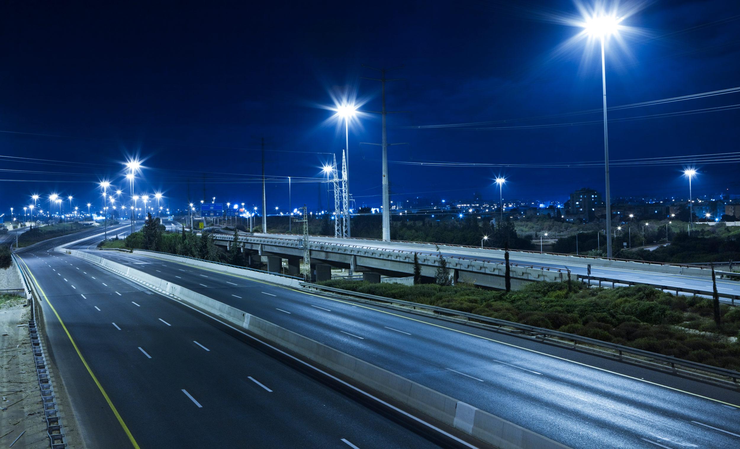 расстояние от опоры освещения до дороги
