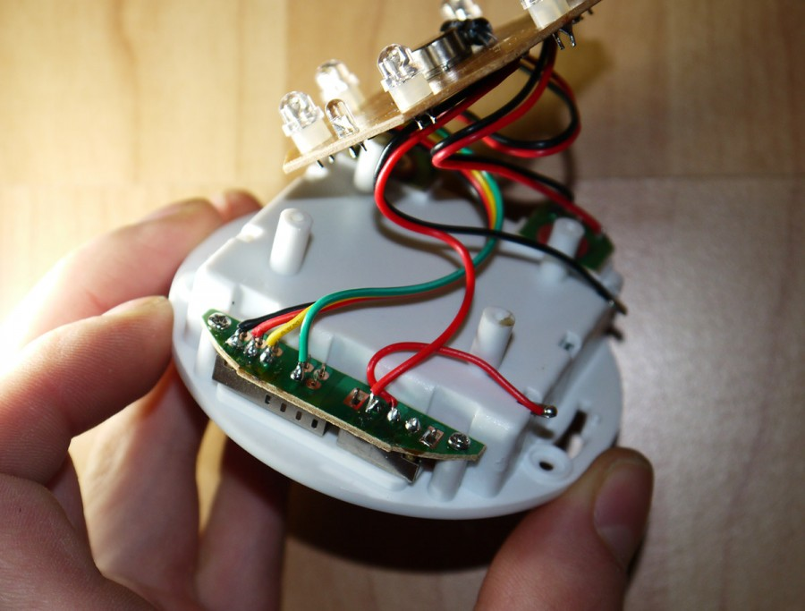 подключение светодиодного прожектора