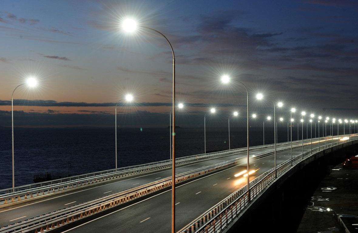 освещение автомобильных дорог гост