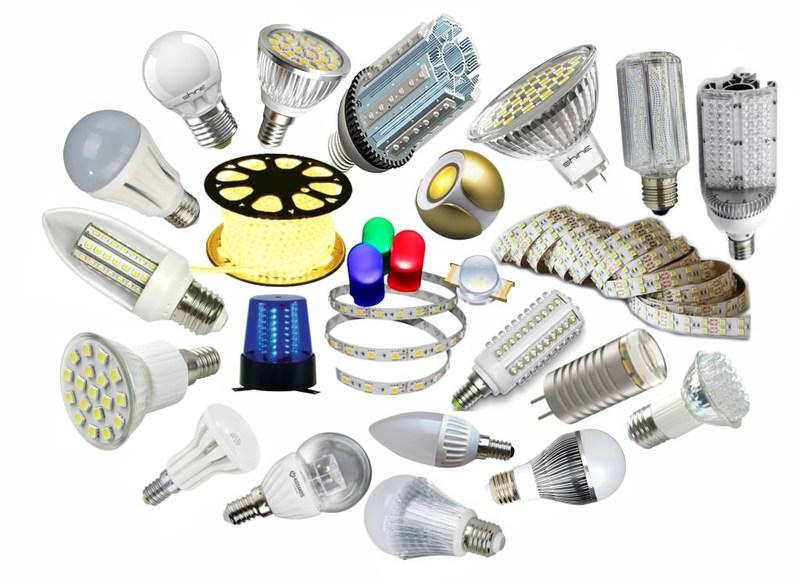 коэффициент мощности светодиодных светильников