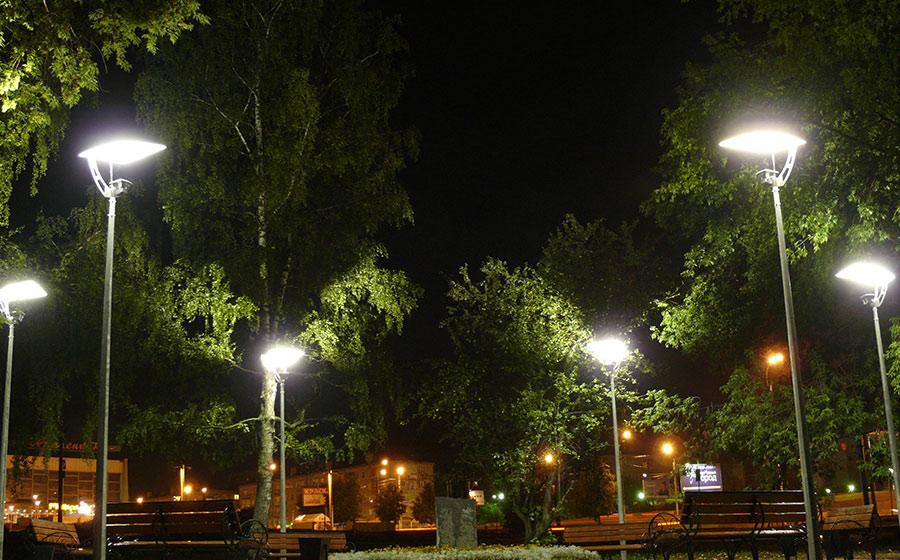 необычные уличные фонари