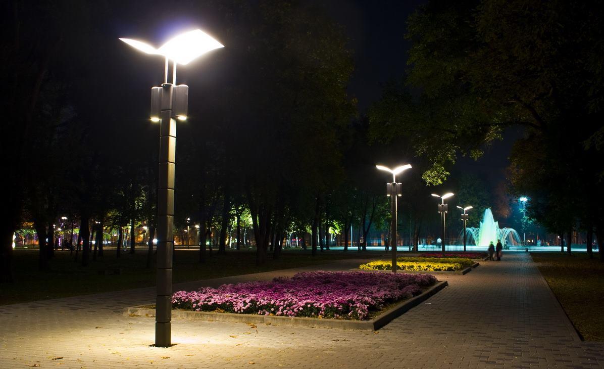 светодиодное освещение парков и скверов