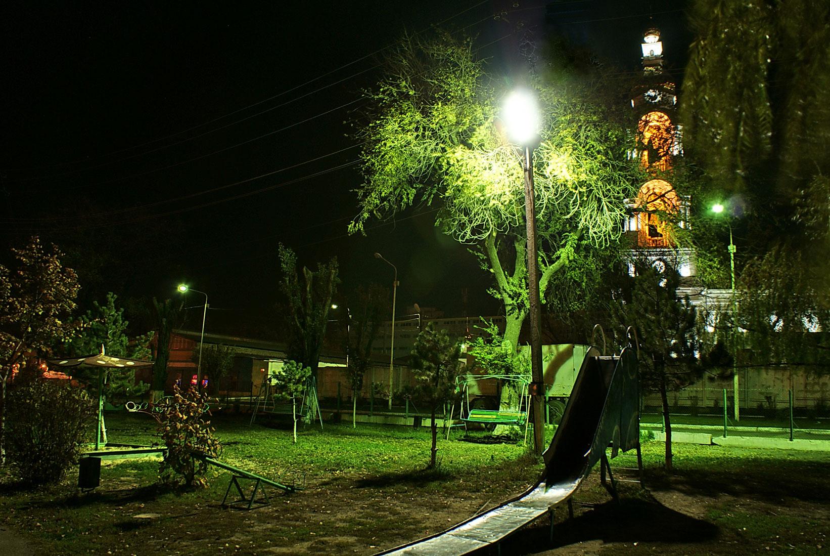 размеры уличных фонарей
