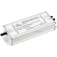 Блок питания ARPV-UH12100-PFC-DALI-PH (12V, 8.3A, 100W) (ARL, IP67 Металл, 7 лет)