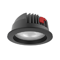 Св-к Downlight DL-PRO встр 52Вт 4000K 226*96мм IP65 черный RAL9005