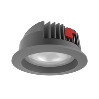 Св-к Downlight DL-PRO встр 52Вт 4000K 226*96мм IP65 серый RAL7045