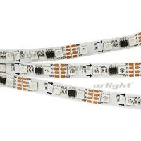 Лента SPI-5000-5060-60 12V Cx3 RGB-Auto (10mm, 13.2W, IP20)