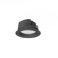 Св-к Downlight DL-PRO встр 20Вт 3000K 144*71мм IP65 (монт. отв. 125-135мм) черный RAL9005