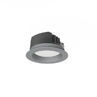 Св-к Downlight DL-PRO встр 20Вт 6500K 144*71мм IP65 (монт. отв. 125-135мм) серый RAL7045