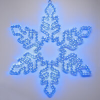 Фигура ARD-SNOWFLAKE-M1-940x940-648LED Blue (230V, 36W) (ARDCL, IP65)