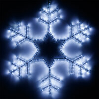 Фигура ARD-SNOWFLAKE-M4-750x750-324LED White (230V, 18W) (ARDCL, IP65)