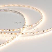 Лента RT 2-5000 12V Warm2400 5mm 2x (3528, 600 LED, LUX) (ARL, 9.6 Вт/м, IP20)