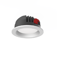 Св-к Downlight DL-PRO встр 35W 3000K 183*80мм IP65 (монт. отв. 160-175мм)
